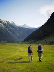 Wandern, Berge