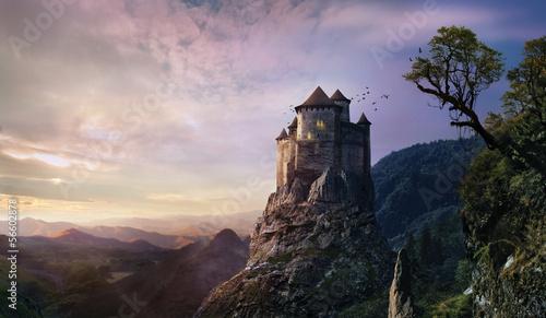 misty castle - 56602878