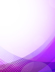 Abstract purpule background