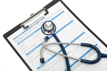 Medical and health insurance concept