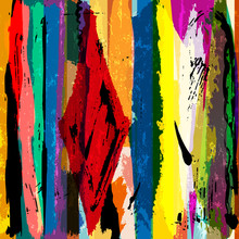 abstract background, with stripes, paint strokes and splashes, a