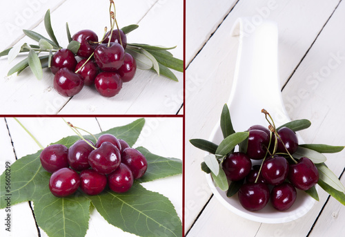 composición de cerezas
