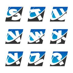 Swoosh Sport Alphabet Icons Set 3