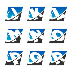 Swoosh Sport Alphabet Icons Set 2