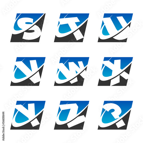 Swoosh Sport Alphabet Icons Set 3