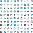Blue Grey Webicons - Internet Shop Website