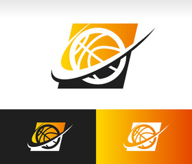 Swoosh Basketball Icon