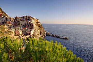 Cinque Terre, Manarola village of Italy