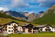 Alpine village,Livigno -Italy