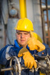 system operator in oil and gas production