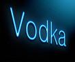 Vodka concept.