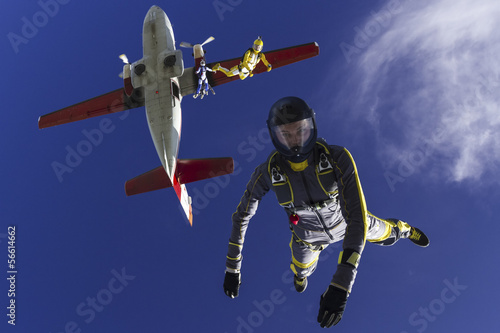 Sky sports Skydiving photo.