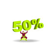Silhouette héros 50%