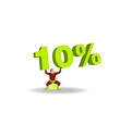 Silhouette héros 10%
