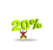 Silhouette héros 20%