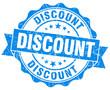 discount blue grunge vintage stamp
