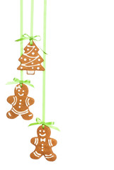 Traditional Gingerbread Christmas Cookies