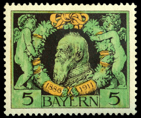 Bayern stamp