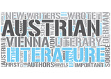 Austrian literature Word Cloud Concept