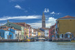 colorful houses of Burano Venice