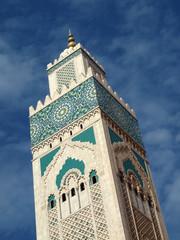 Hassan-2.-Moschee in Casablanca