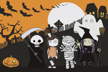Halloween's eve.