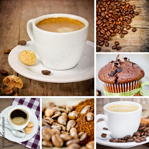 Kaffee Collage
