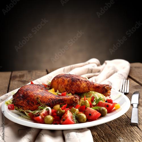food of chicken