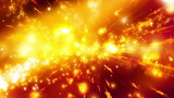 Looping Cosmic Chaos Abstract Animated Background