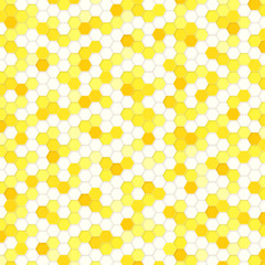 Honeycomb Background Yellow #Vector