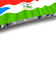 Designelement Flagge Äquatorialguinea