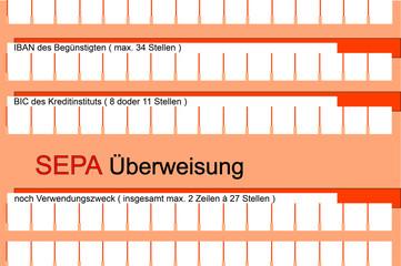 SEPA Überweisung 2709