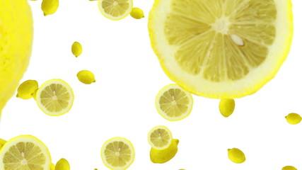 レモンの落下
