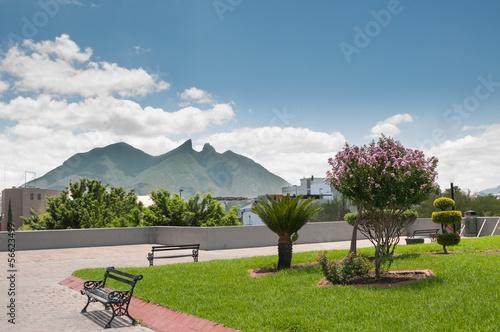 Keuken foto achterwand Mexico Cerro de la Silla - Monterrey