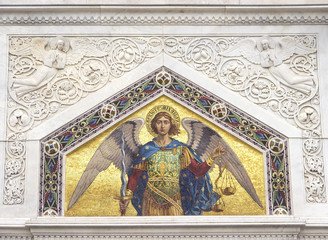 Mosaic of Saint Michael