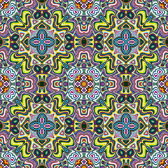 Trendy textile pattern from South Asia