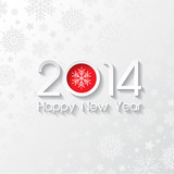 Happy New Year background design