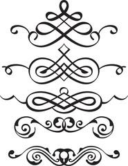 Spiral divider elements