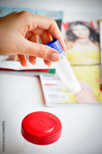 sperm check control test