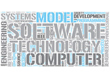 Software engineering Word Cloud Concept