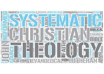 Systematic theology Word Cloud Concept