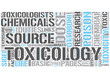 Toxicology Word Cloud Concept