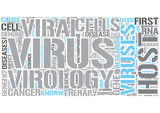 Virology Word Cloud Concept
