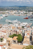 Old Town and Harbor of Ibiza