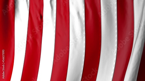 American Flag to use as a transition element.