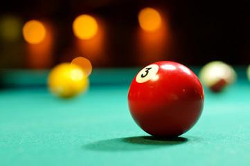 Pool ball 3