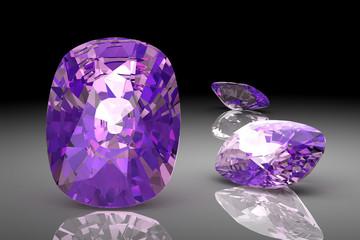 amethyst (high resolution 3D image)