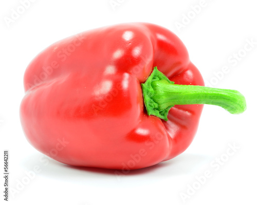 Isolated Red Pepper