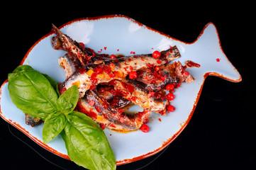 anchovis auf teller #1