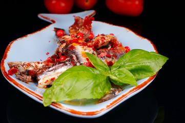 anchovis auf teller #3